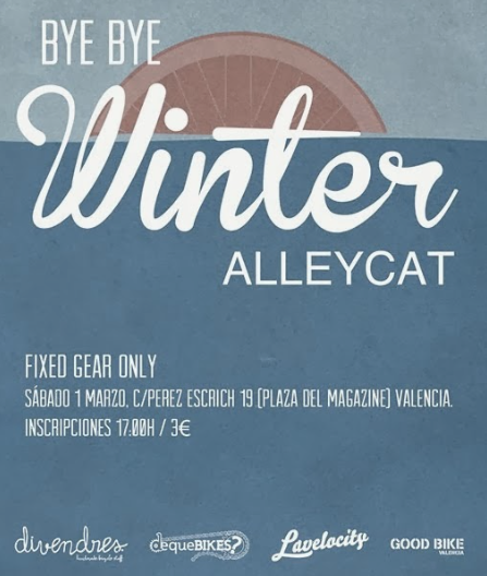 bye bye winter alleycat